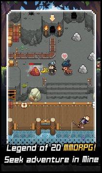 Скриншот Grow Stone Online: 2d pixel RPG, MMORPG game