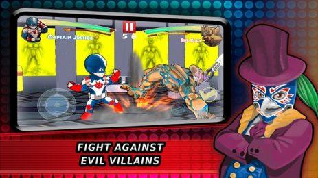 Скриншот Супергерои Боевые игры Теневая битва