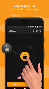 Скриншот VPNhub