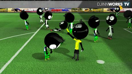 Скриншот Stickman Soccer 2018