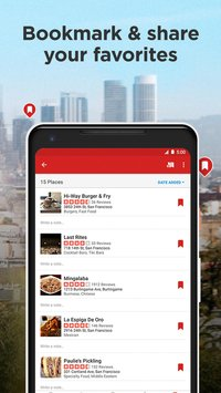 Скриншот Yelp: Food, Shopping, Services Nearby