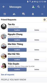 Скриншот Swift for Facebook Lite