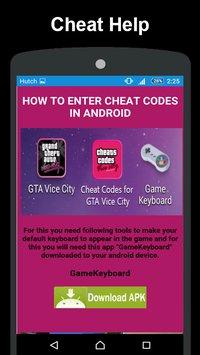 Gta vice city cheats code