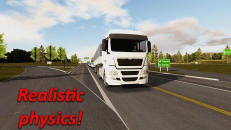 Скриншот Heavy Truck Simulator