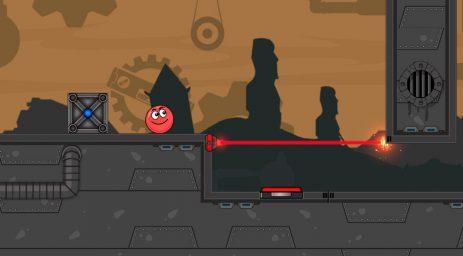 Скриншот Red Ball Roll 2