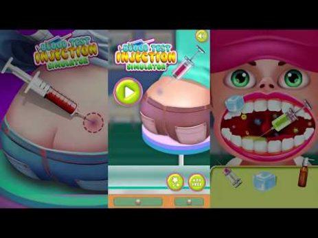 Скриншот Кровь Контрольная работа впрыскивание имитатор Врача