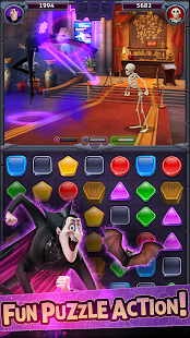 Скриншот Hotel Transylvania: Monsters! – Puzzle Action Game