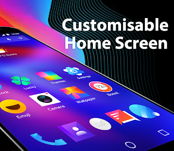 Скриншот Bling Launcher – Live Wallpapers & Themes
