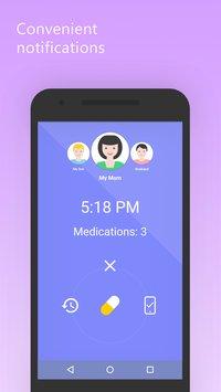 Скриншот Mr. Pillster pill reminder & medication tracker rx