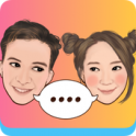 MojiPop – GIF Sticker Camera & Keyboard - icon