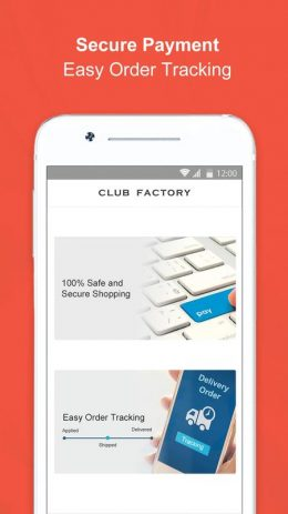 Скриншот Club Factory
