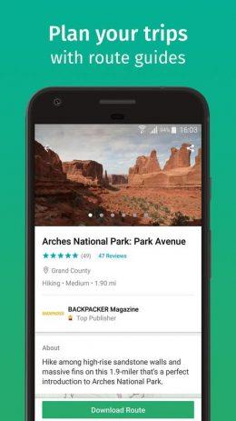 Скриншот ViewRanger - Исследуйте пешие маршруты
