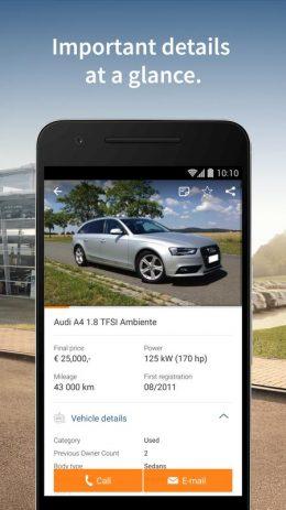 Скриншот AutoScout24