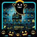 Тема для клавиатуры Halloween Ghost