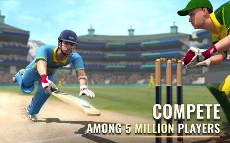 Скриншот Sachin Saga Cricket Champions 1