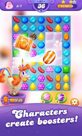 Скриншот Candy Crush Friends