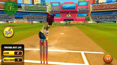 Скриншот Bat Attack Cricket Multiplayer