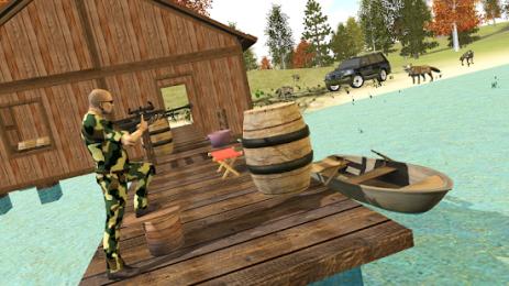 Скриншот Симулятор охоты 4х4