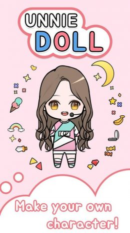 Скриншот Unnie doll