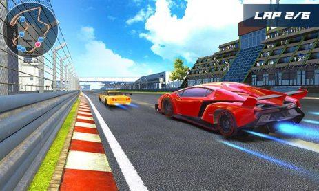 Скриншот Drift Car City Traffic Racing