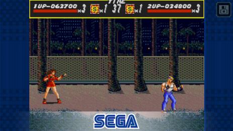 Скриншот Streets of Rage Classic
