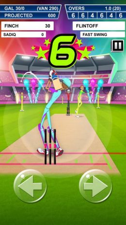 Скриншот Stick Cricket Super League