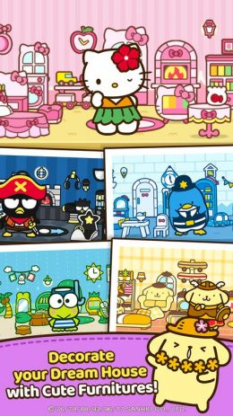 Скриншот Hello Kitty Friends – Tap & Pop, Adorable Puzzles