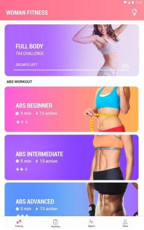 Скриншот Фитнес для женщин: женская тренировка 5