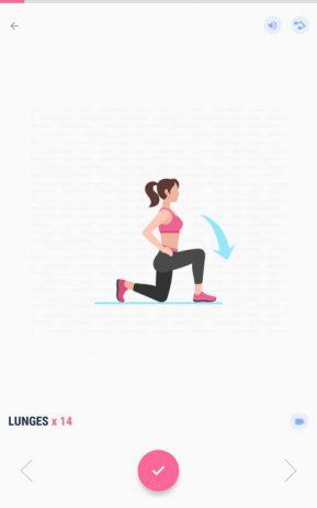 Скриншот Фитнес для женщин: женская тренировка 7