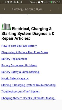 Скриншот CAR DIAGNOSIS AND REPAIRS