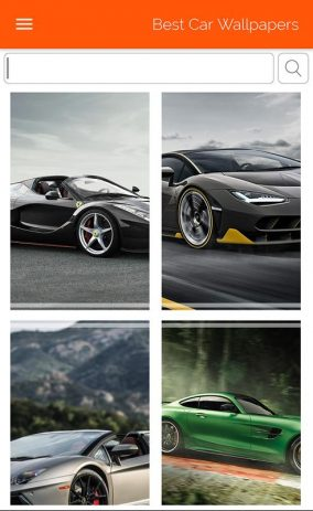 Скриншот Best Car Wallpapers 1