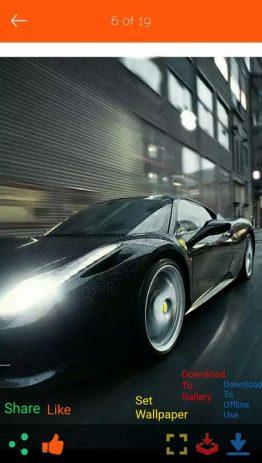 Скриншот Best Car Wallpapers 2