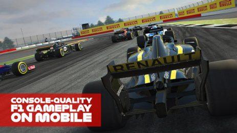 Скриншот F1 Mobile Racing