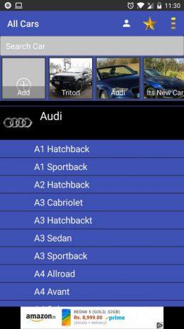 Скриншот All Cars