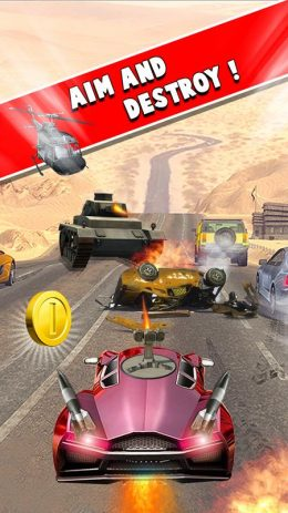 Скриншот Death Race Car Shooting: Car Fighter on Highway