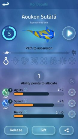 Скриншот Zen Koi 2