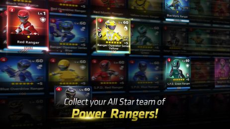 Скриншот Power Rangers: All Stars