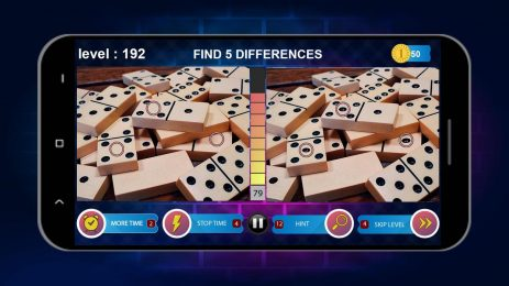 Скриншот Five Differences 1000 levels 2018 , Jigsaw puzzles