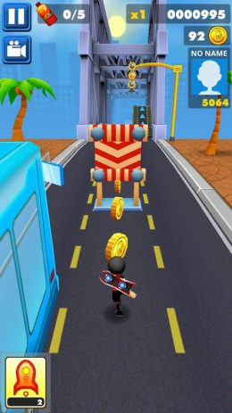 Скриншот train Surf Run Fun 3d