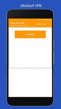 Скриншот Ultra Surf VPN Handler : Free & Unlimited