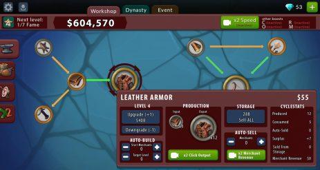 Скриншот Крафт-кликер