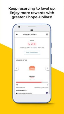 Скриншот Chope