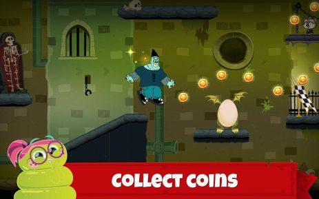 Скриншот Hotel Transylvania Adventures – Run, Jump, Build!