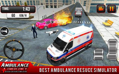 Скриншот 911 Ambulance City Rescue: Emergency Driving Game