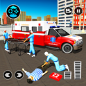 911 Ambulance City Rescue: Emergency Driving Game - icon
