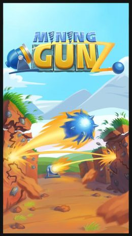 Скриншот Mining GunZ: shoot, destroy blocks, smelting ore