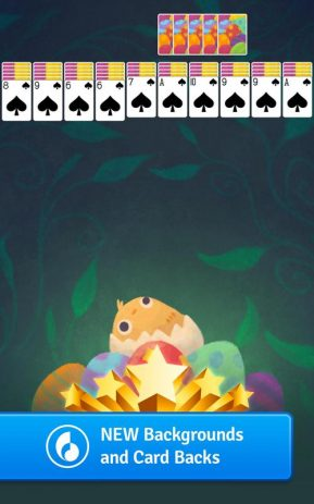 Скриншот Spider Solitaire