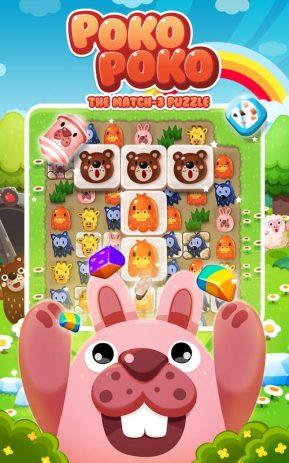 Скриншот POKOPOKO The Match 3 Puzzle