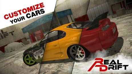 Скриншот Real Drift Car Racing Lite