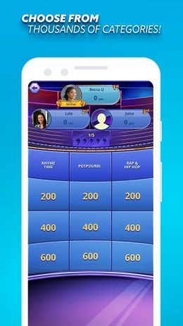 Скриншот Jeopardy!